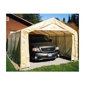 Rhino Shelter Instant Garage House Style 12x20x8