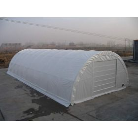 Rhino Shelter Commercial Round Building 30x65x15