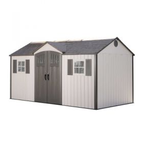 15ft X 8ft Lifetime Garden Storage Shed