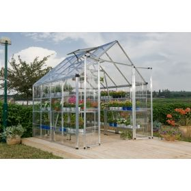 SNAP & GROW Silver 8' x 8' by Poly-Tex