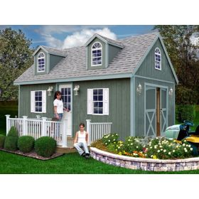 ... Arlington 12 X 16 Shed Kit By Best Barns