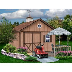 Brandon by Best Barns Outdoor Wood Storage Shed 12 x 16