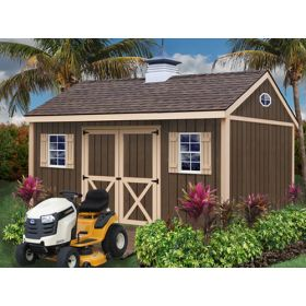 Brookfield 12 x 16 Shed Kit by Best Barns