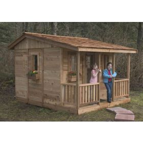 Cozy Cabin Playhouse - 7'x9' by Outdoor Living