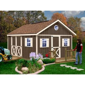 Best Barns Fairview Shed Kit 12 x 16