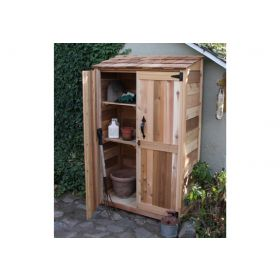 Outdoor Living 4'x2' Garden Chalet Shed