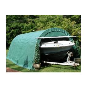 Rhino Shelter Instant Garage Round Style 12x24x8