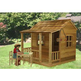Little Cedar Playhouse - 6'x6' by Outdoor Living