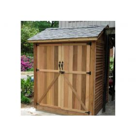 Outdoor Living Maximizer Storage Shed 6'x6'