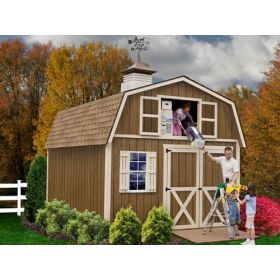... Best Barns Millcreek 12 X 16 Wood Shed