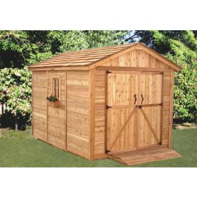 Outdoor Living 8'x12' SpaceMaker Storage Shed