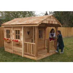 Sunflower 6 x 9 Playhouse by Outdoor Living