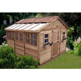 Outdoor Living 12'X12' Sunshed Garden Shed