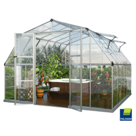 Americana Greenhouse 12 x 12 by Polytex
