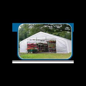 Rhino Shelter Instant Greenhouse 22x24x12 Peak Style